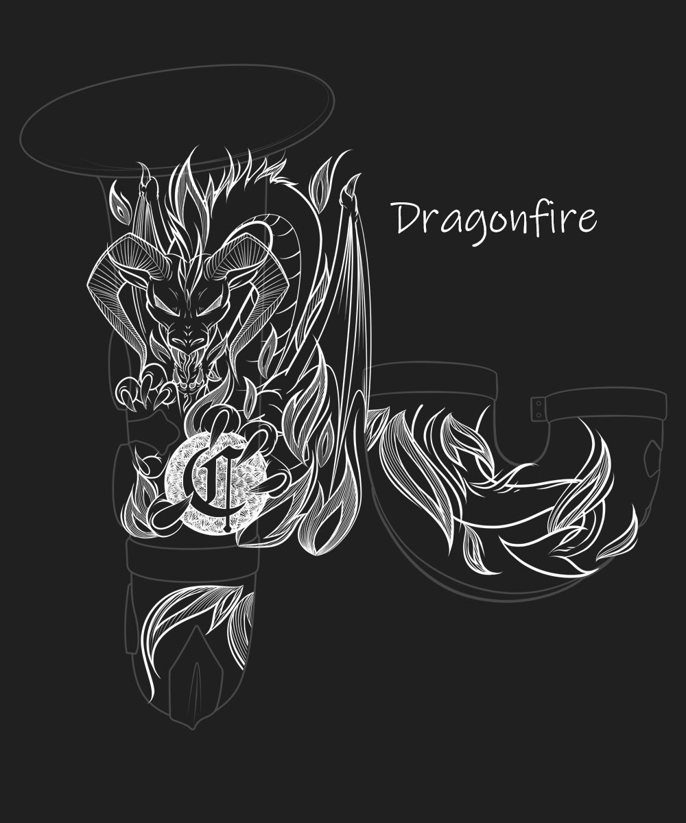 Dragonfire Premium Engraving