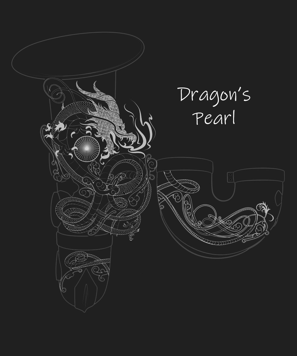 Dragons Pearl Premium Engraving