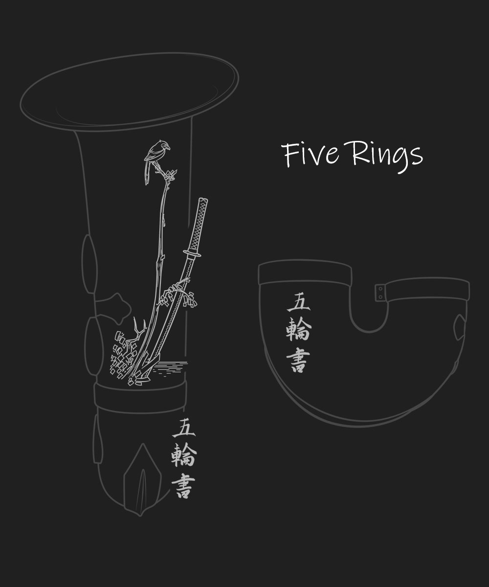 Five Rings Premium Engraving