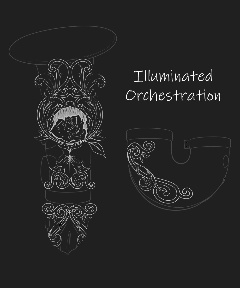 Illuminated Orchestration Premium Engraving