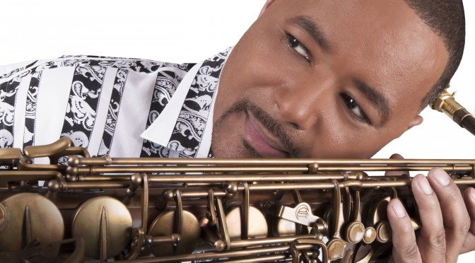 Najee Visits Cannonball, takes a Raven Tenor